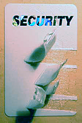 Self-Destructive Adhesive Security Seals